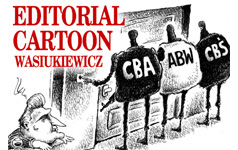 Editorial Cartoon Jurek Wasiukiewicz